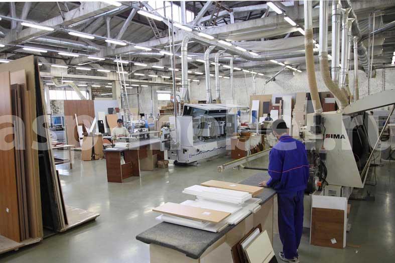 Производство мебели.