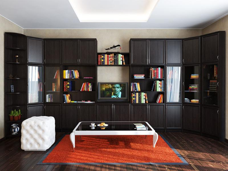 """Библиотека """"альмира"""" купить деревянные стеллажи для дома и к."""