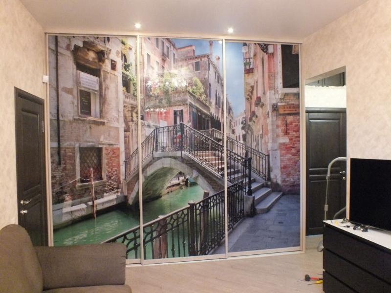 шкаф купе фотопечать венеция