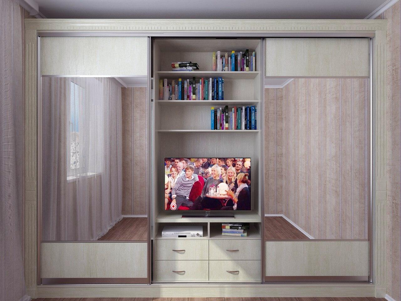 Шкафы под телевизор фото цена