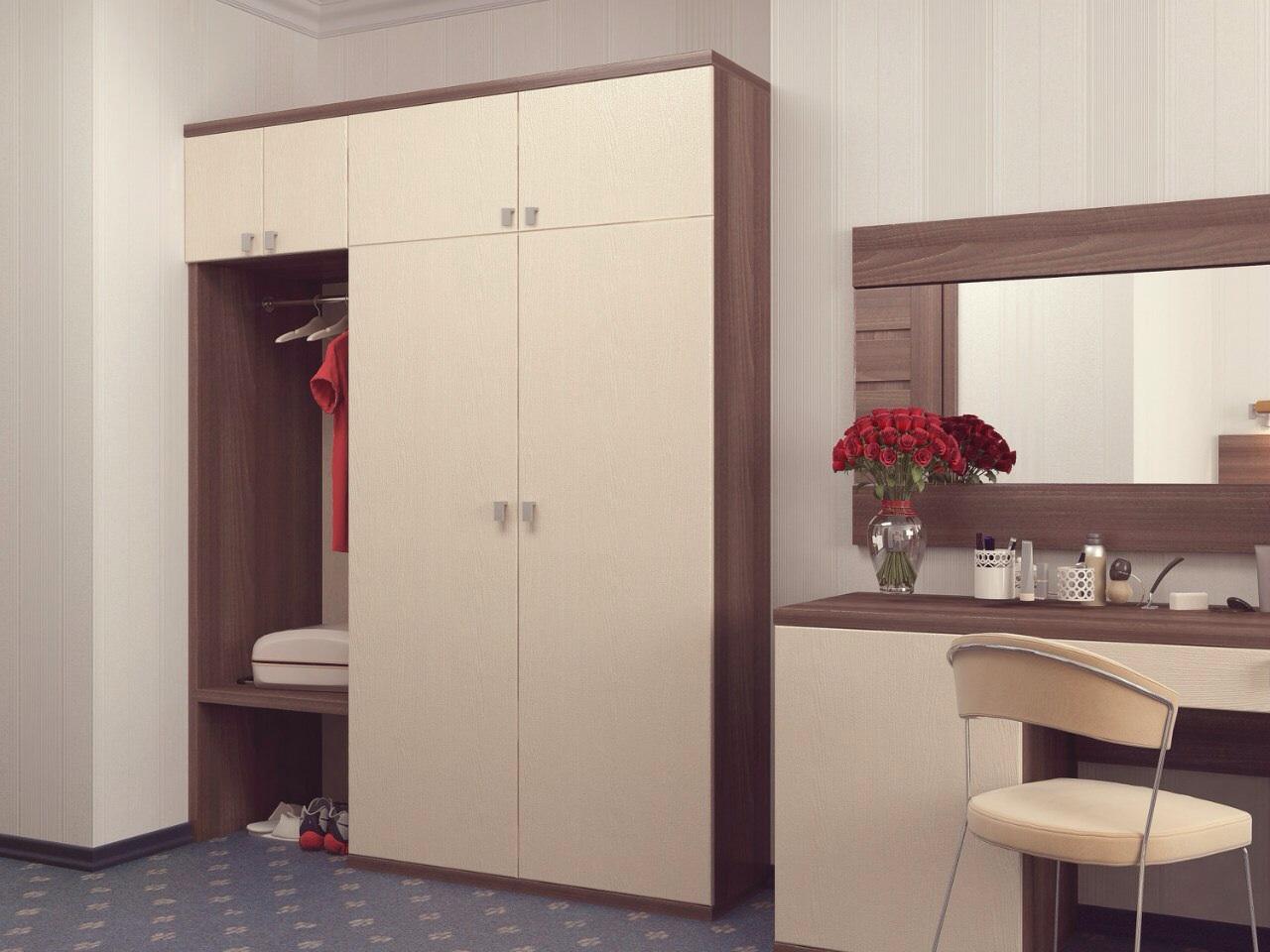 Распашной шкаф лдсп egger ваниль купить мебель в кабинет на .